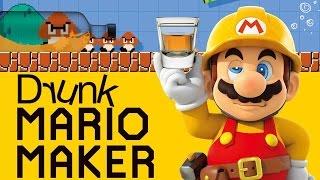 One of Funhaus's most viewed videos: DRUNK MARIO MAKER - Super Mario Maker Gameplay