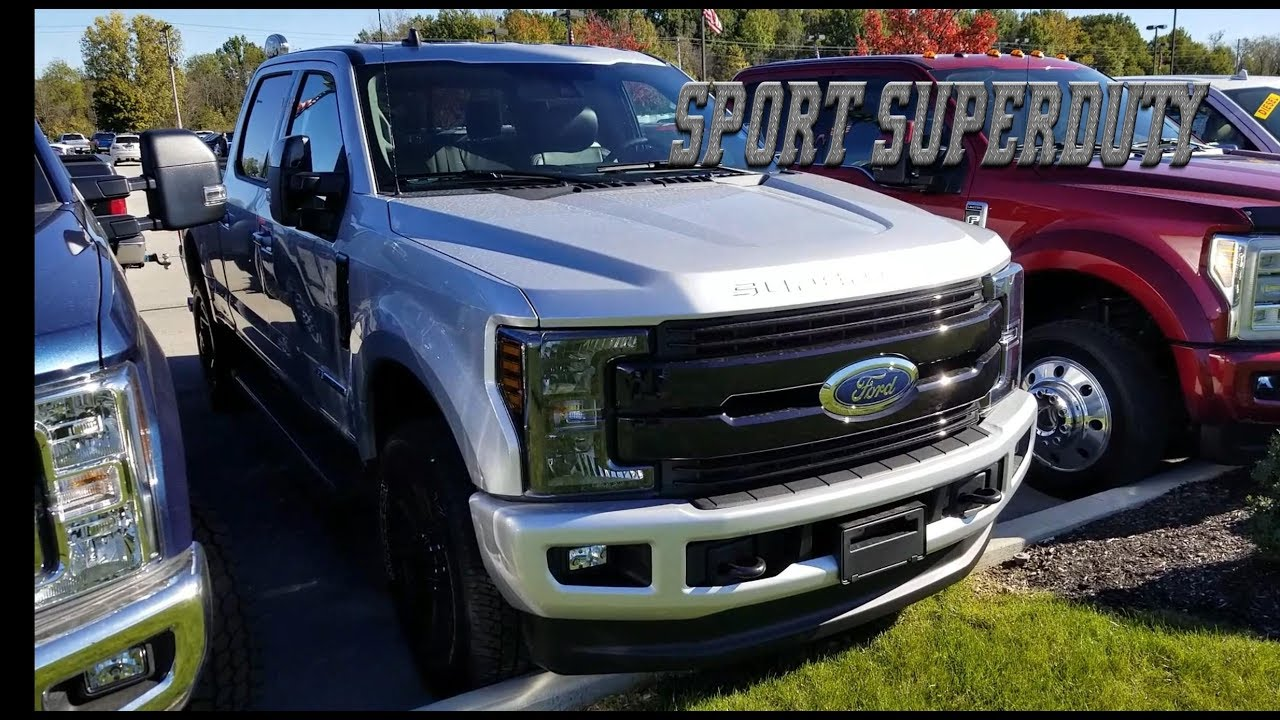 ford f250 packages
