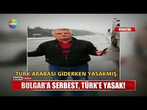 Bulgar'a serbest, Türk'e yasak!