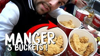 KFC BUCKET CHALLENGE : JE TENTE DE FINIR 3 BUCKETS *ALERTE P.L.S*