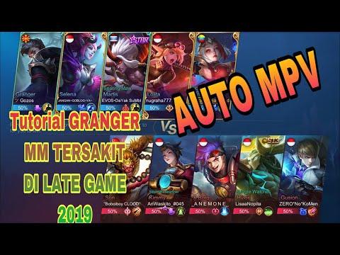 BUILD GRANGER TERSAKIT 2019 - MM TERSAKIT DI LATE GAME - TUTORIAL MM - MOBILE LEGEND INDONESIA