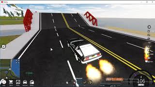 ROBLOX/Fahrzeug-Simulator(Nuevo auto volador DMC Delorean!)