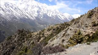 The Annapurna circuit, April 2014