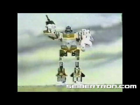 Transformers G1 Aerialbots vs Stunticons commercial 1986