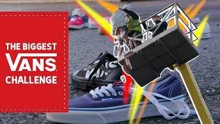 The World's Biggest Vans Challenge!