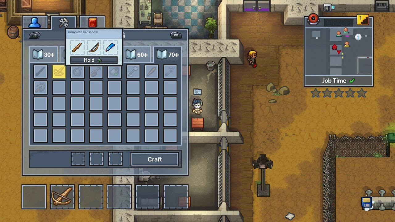 how to make a comb in the escapists