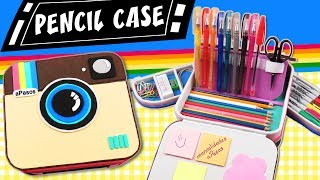 POLAROID PENCIL CASE - Back to School | aPasos Crafts DIY