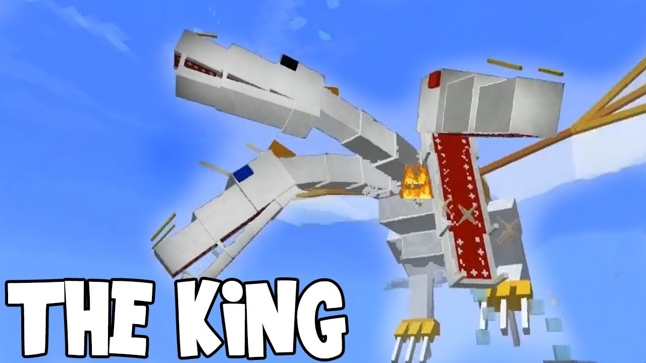 Minecraft Apocalipse The King Vs Ender Dragons Youtube