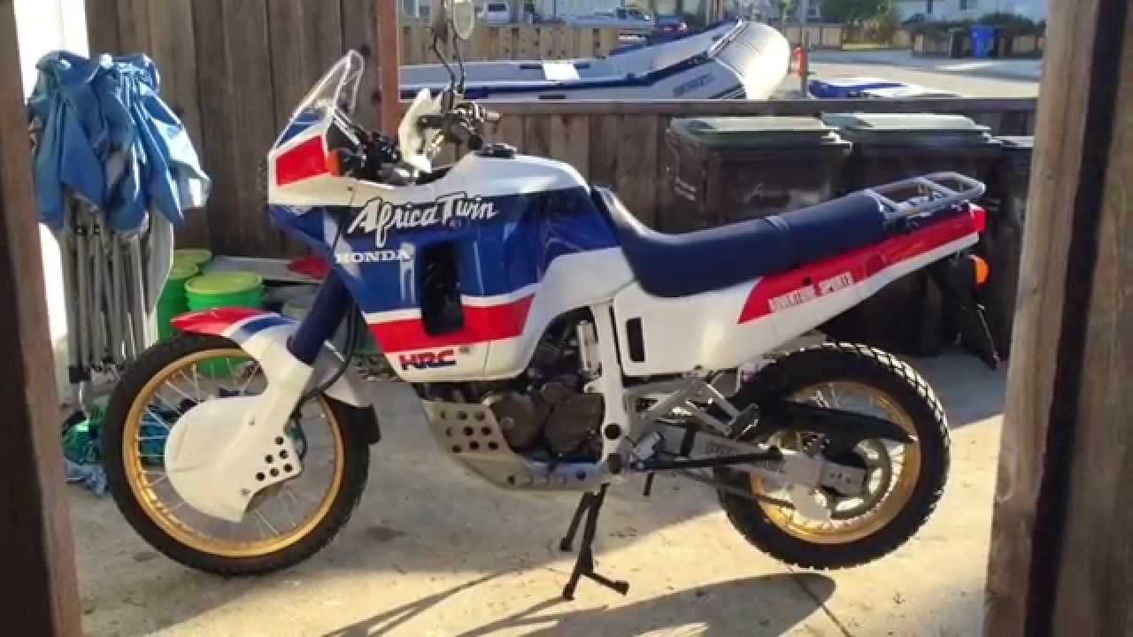 1988 honda xrv650 africa twin restoration youtube. Black Bedroom Furniture Sets. Home Design Ideas