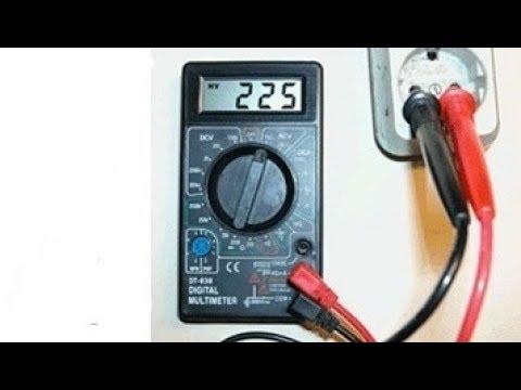 Как мерить вольты мультиметром