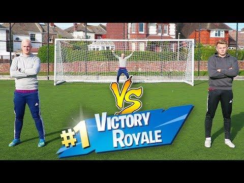 FOOTBALL FORTNITE WARS VS Charlie Morley
