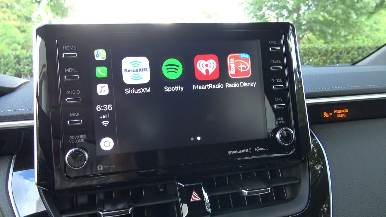 2019 Corolla Hatchback Apple CarPlay and how to use it (Part 3)