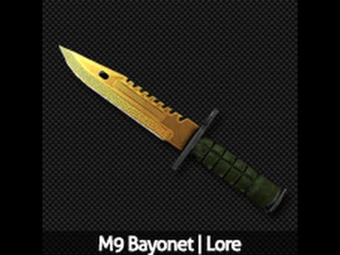 cs go for cs 1 6 m9 bayonet lore youtube. Black Bedroom Furniture Sets. Home Design Ideas
