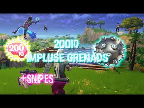 Fortnite 200IQ Plays- Impulse nades outplays + Snipes! (Fortnite)