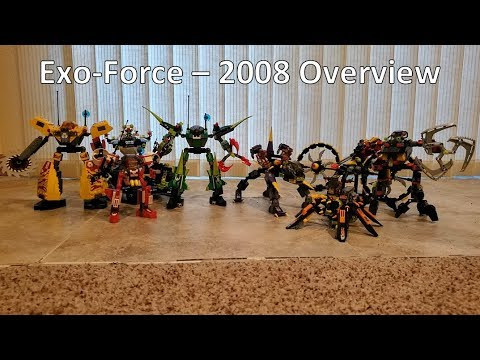 Lego Exo-Force Review - 2008 Overview