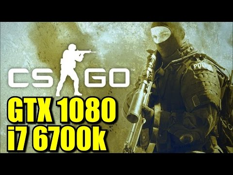 GTX 1080 OC: Counter Strike Global Offensive | 768p - 1080p & (4K) 2160p | FRAME-RATE TEST