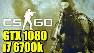 Counter Strike Global Offensive GTX 1080 OC | 768p - 1080p & (4K) 2160p | FRAME-RATE TEST