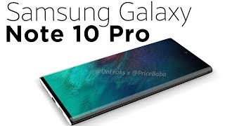 Samsung Galaxy Note 10 Pro: 360 renders [EXCLUSIVE] thumbnail