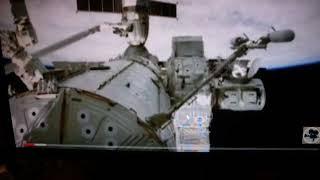 Фейковый фильм Прокопенко про Нло. живой гусь без скафандра в отрытом космосе на МКС