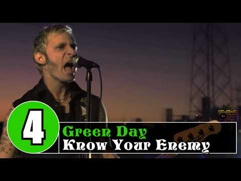 GREEN DAY  TOP 10 SONGS