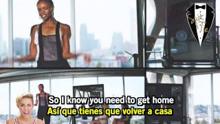 "Pharrell Williams ft Miley Cyrus - ""Come Get It Bae"" (Lyrics Ingles - Subtitulado Español)"