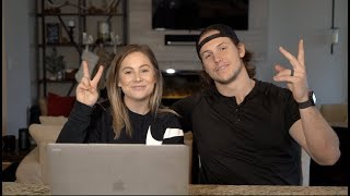 i met his parents on our second date + early dating fears | shawn johnson + andrew east