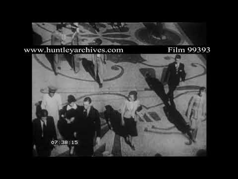 Rio de Janeiro, Brazil, 1940's.  Archive film 99393