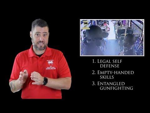 Florida Bus Altercation Ends Badly  Active Self Protection