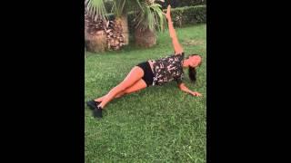 Косые. Упражнения на косые мышцы живота. Лагерь для похудения