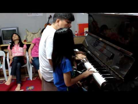 Cebu Music Learning Center Student-Piano Improvisation