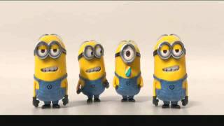 Minions Banana Potato Song (HD)-chipmunk