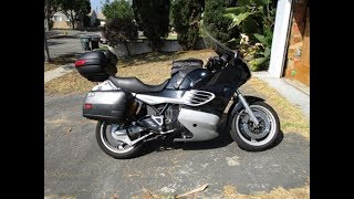 Changing the front wheel bearings on a 1996 BMW K1100RS