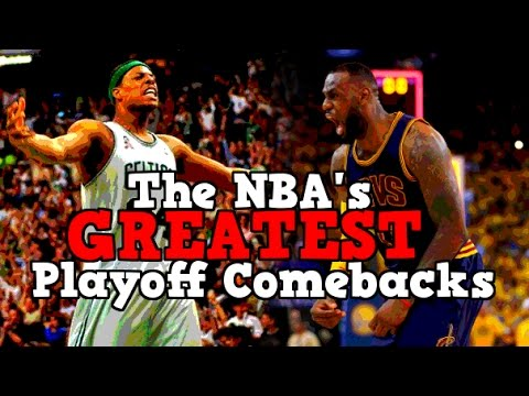The 5 GREATEST NBA Playoff Comebacks in HISTORY