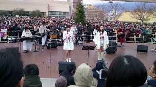 2014/01/26 阪急西宮ガーデンズで行われたす・またん!バンドのイベント...