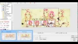Photoscape-Capa Nick Minaj/ tutorial #1