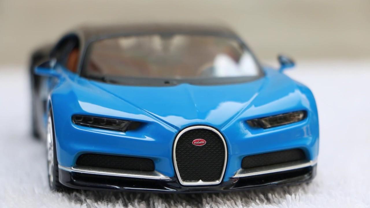 Unboxing of Bugatti Chiron cast Maisto 1:24 Scale Model - YouTube