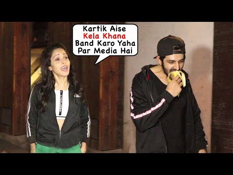 Kartik Aaryan's Girlfriend Nushrat Bharucha Embarr@sed Of Boyfriend Kartik's Behavi0ur Outside Gym Mp3