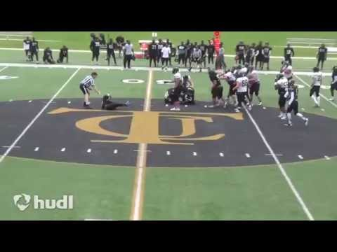 Julian Thrower - CB - Tyler Junior College Spring Highlights