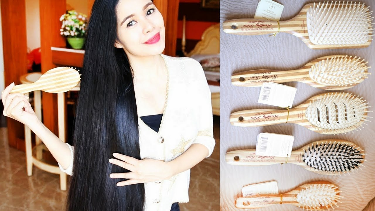 Wooden Brushes For Hair Growth Haul Why You Should Use Woodenbamboo Brushes Beautyklove