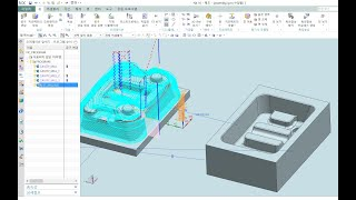 유니그래픽스 UG NX MCT 금형가공 머시닝센터 3D…