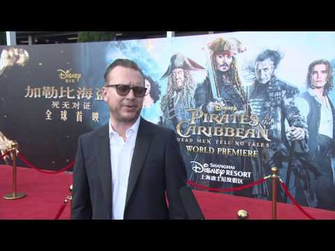 Pirates Of The Caribbean Dead Men Tell No Tales  Shanghai Premiere Espen Sanberg