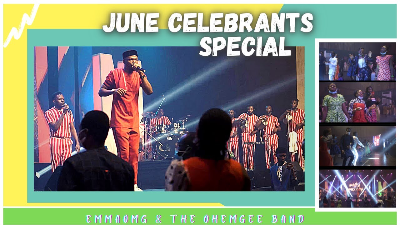 Download JUNE CELEBRANTS Special | EmmaOMG & The OhEmGee Band