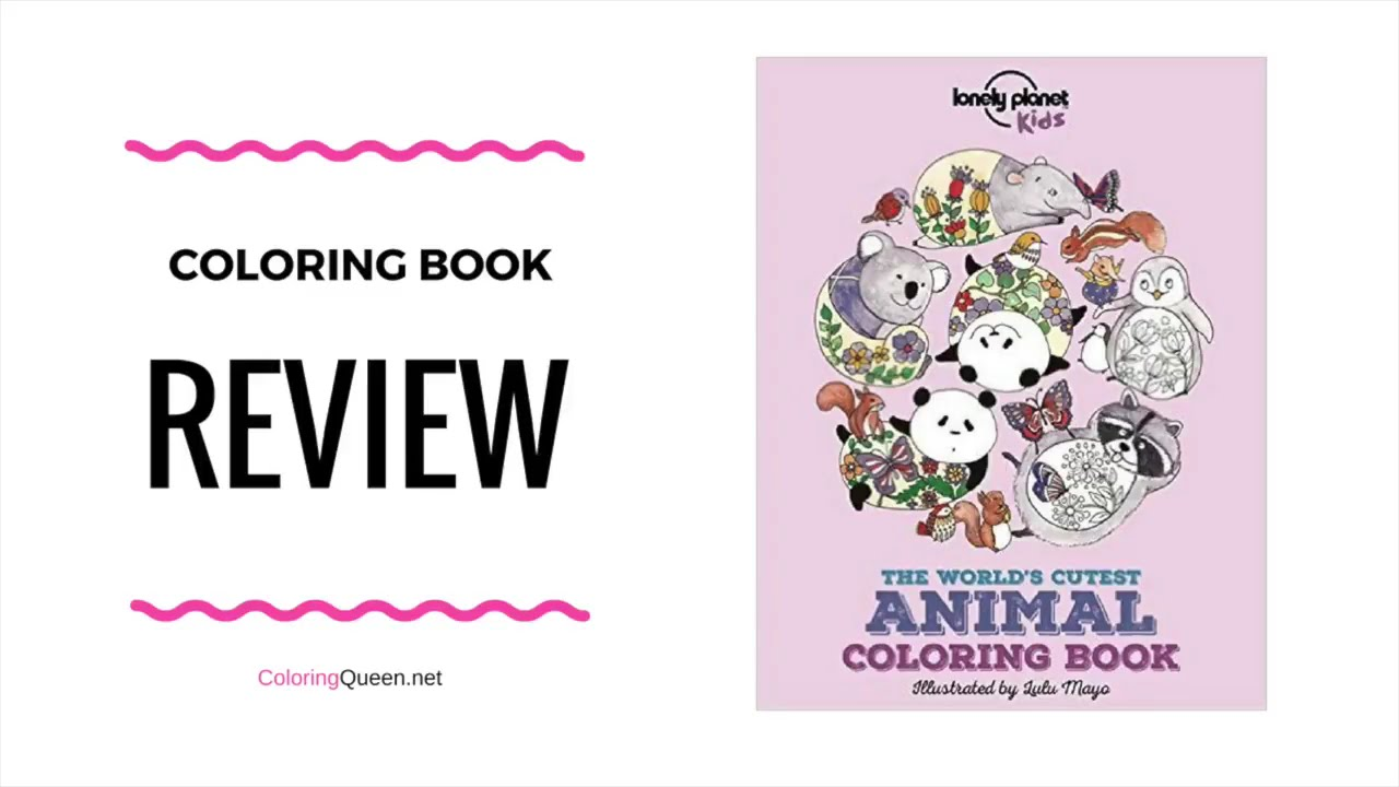 The Worlds Cutest Animal Coloring Book