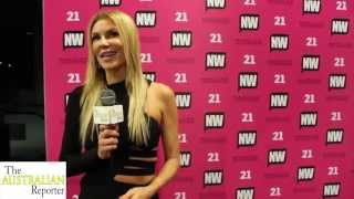 The Australian Reporter Interview Brandi Granville and Imogen Anthony at NW Magazines 21st Birthday