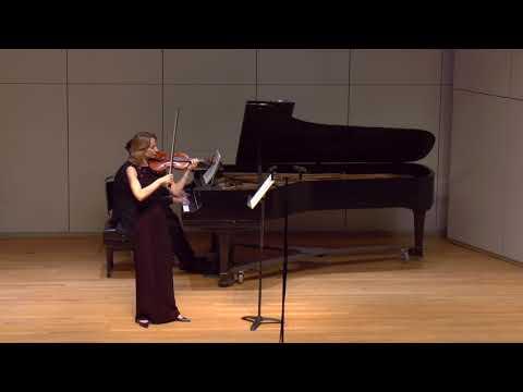 L.van Beethoven, Sonata for Violin and Piano No.8 in G Major, mov 1 Allegro assai