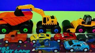 중장비 자동차 장난감 클레이 도로만들기 포크레인 놀이