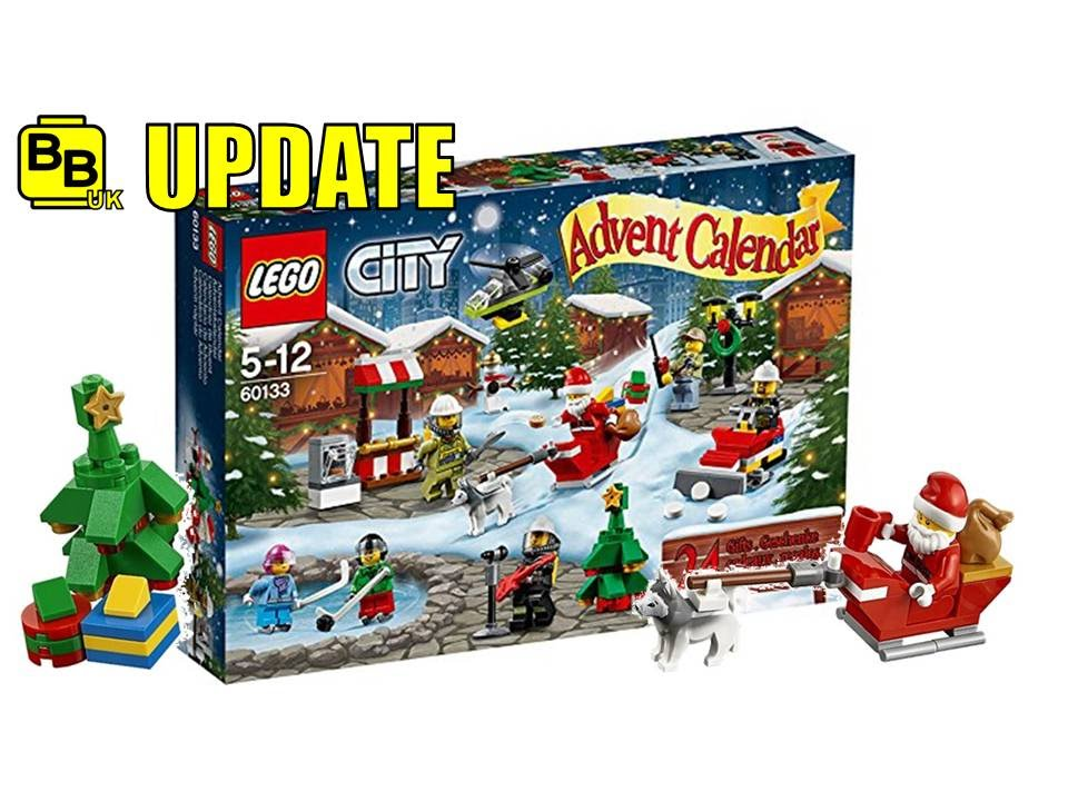 LEGO CITY 2016 CHRISTMAS ADVENT CALENDAR OFFICIAL IMAGES NEWS UPDATE ...
