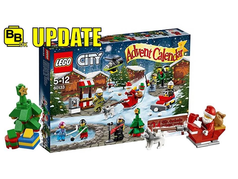 Lego Friends Advent Calendar 2020 LEGO CITY 2016 CHRISTMAS ADVENT CALENDAR OFFICIAL IMAGES NEWS