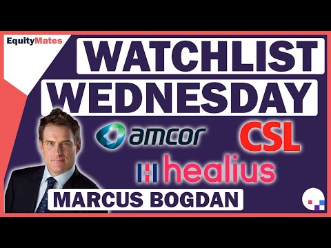 Blackmore Capital | Equity Mates | Watchlist Wednesday | AMC, CSL & HLS