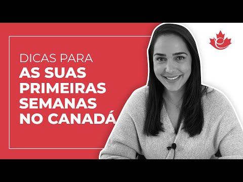 DICAS PARA AS SUAS DUAS PRIMEIRAS SEMANAS NO CANADÁ!